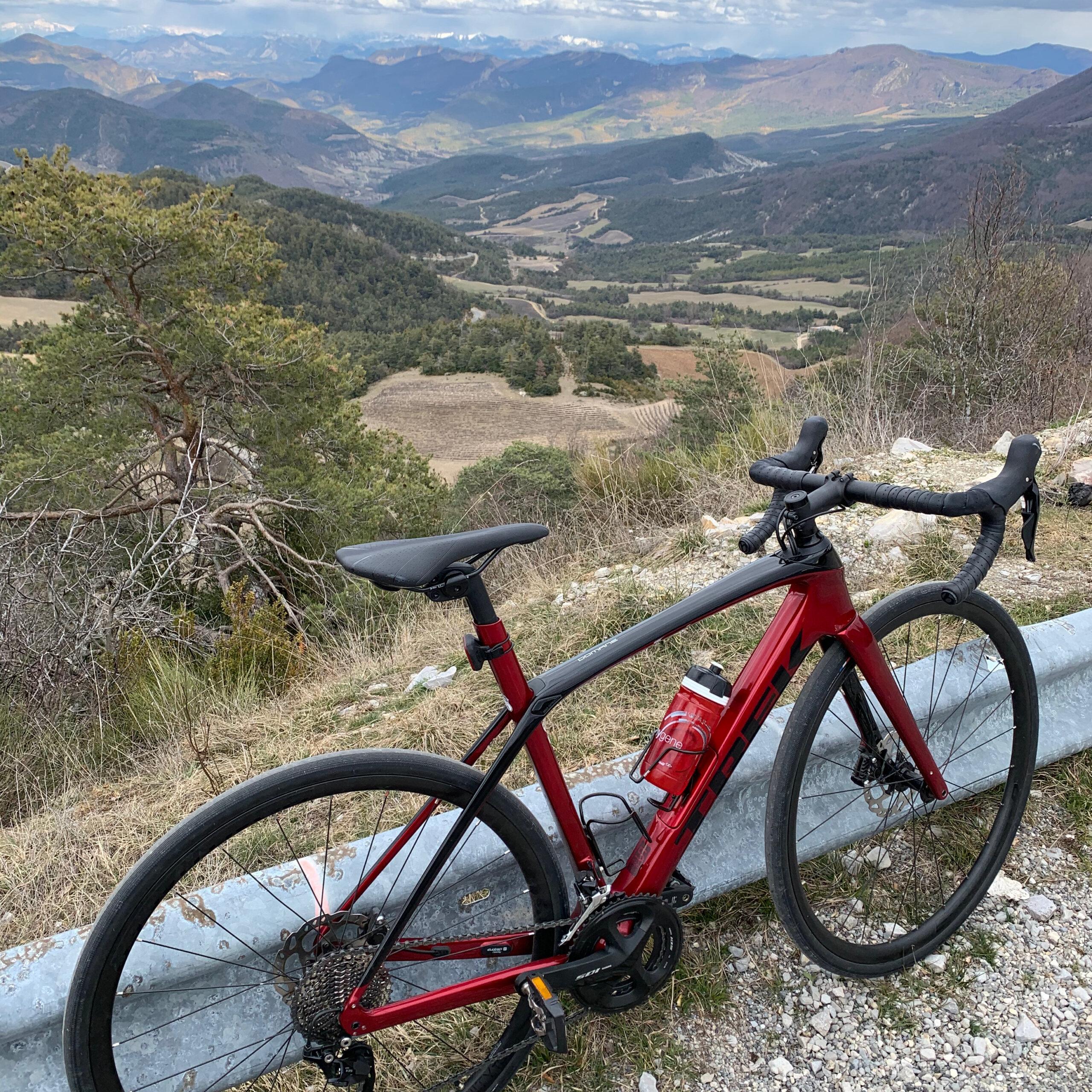 vélo baronnies provençales